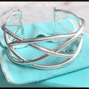 Tiffany & Co Weave Knot Cuff Bracelet